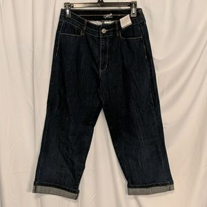 NWT Jaclyn Smith Cropped Jeans